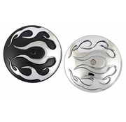 TC-Choppers air cleaner flame aircover insert
