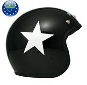 DMD helm ster zwart