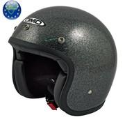 DMD helm glitter zwart