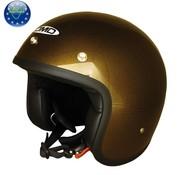 DMD helm glitter brons