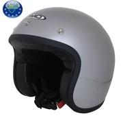 DMD Glitter casco plateado