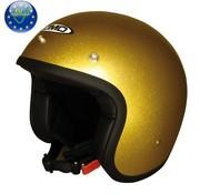 DMD helm glitter goud