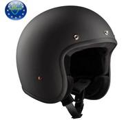 Bandit helm jet mat zwart