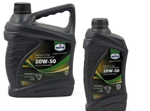 Eurol Oil Sae 20W50 twinlube-3-motor primaire en transmissie synthetische V-Twin motoren