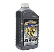 Spectro Oil Sae 75W140 platinum synthetic gear lubricants