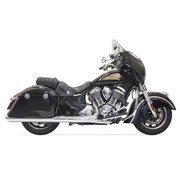 Bassani Geluiddempers chroom - Indian Chief met tassen