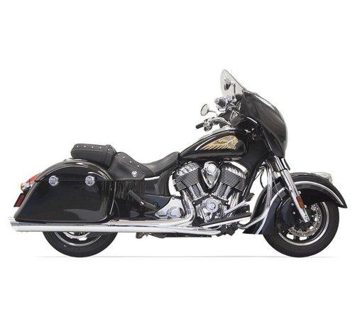 Bassani Indian Motorcycle Mufflers Chrom - Indian Chief mit Taschen