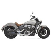 Bassani exhaust Mufflers 3 inch  Scout; black
