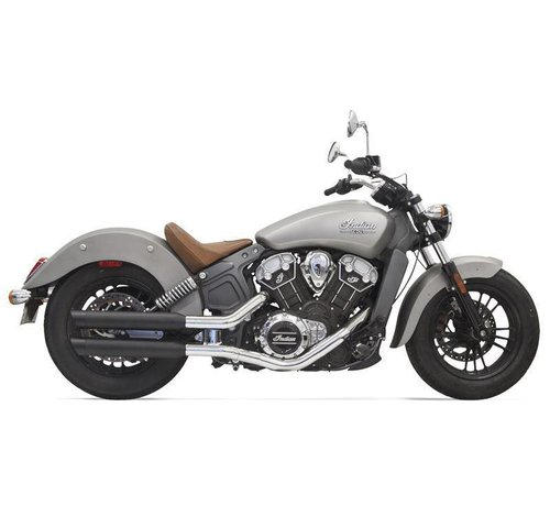 "Bassani Indian Motorcycle Mufflers 3 ""Scout, schwarz"