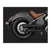 Vance & Hines Hallo-Output Grenades Slip-Ons Mufflers Black - Indian Scout