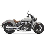Bassani Mufflers 3 inch Chrome for Indian Scout 2015-2016
