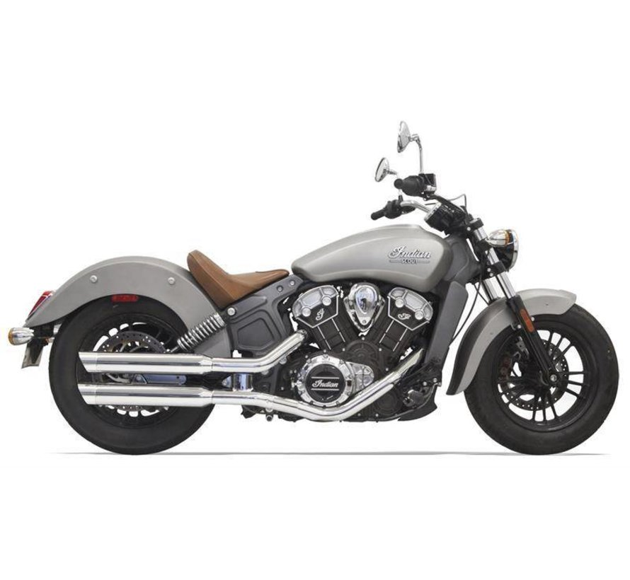 Indian Motorcycle Mufflers 3 Zoll  Chrome für Indian Scout 2015-2016