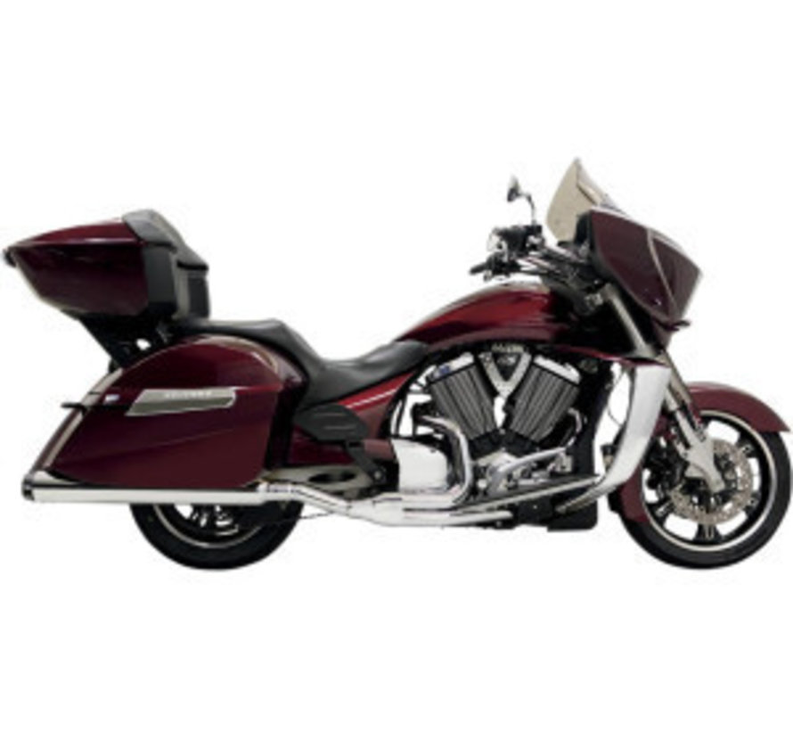 Indian Motorcycle Auspuff 2into1 Road Race Chrom