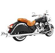 TC-Choppers Sharktail true Dual System voor Indian Classic Vintage Dark Horse