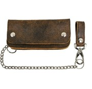 La Rosa Accessories heavy leather - rustic brown