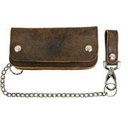 La Rosa heavy leather - rustic brown Fits: >  all Biker