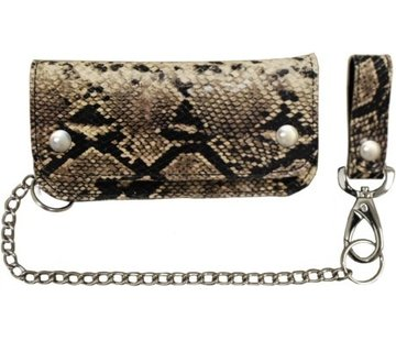 La Rosa Accessories heavy leather - snake skin