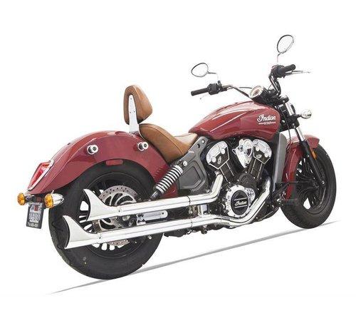 Bassani Indian Motorcycle Mufflers Fishtail Indian Scout 69