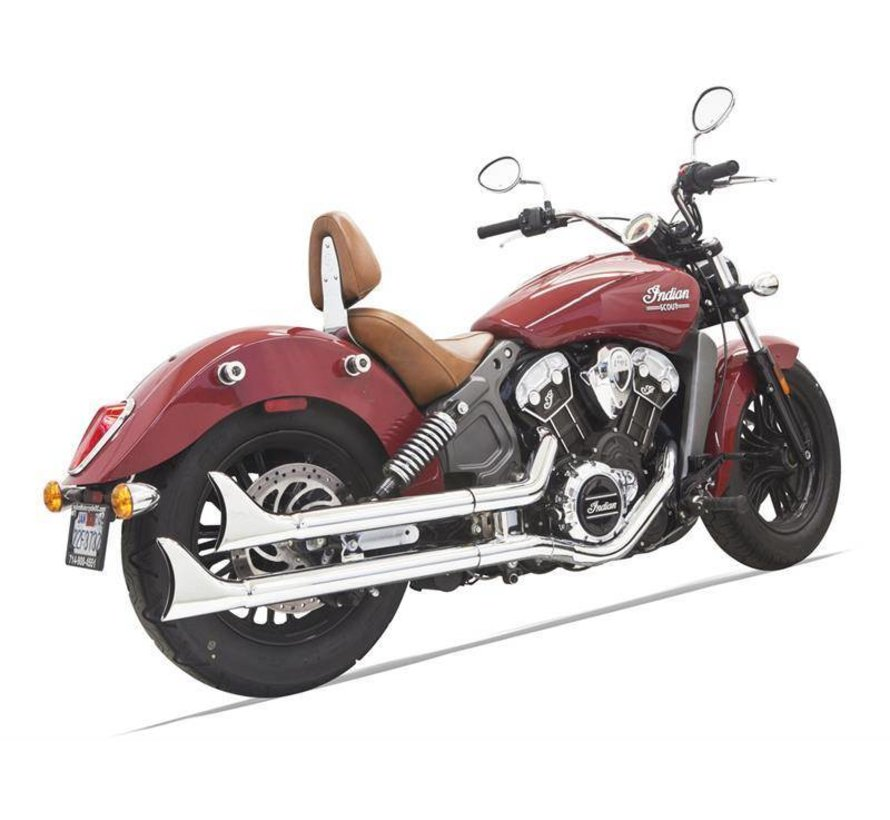 Indian Motorcycle Mufflers Fishtail Indian Scout 69