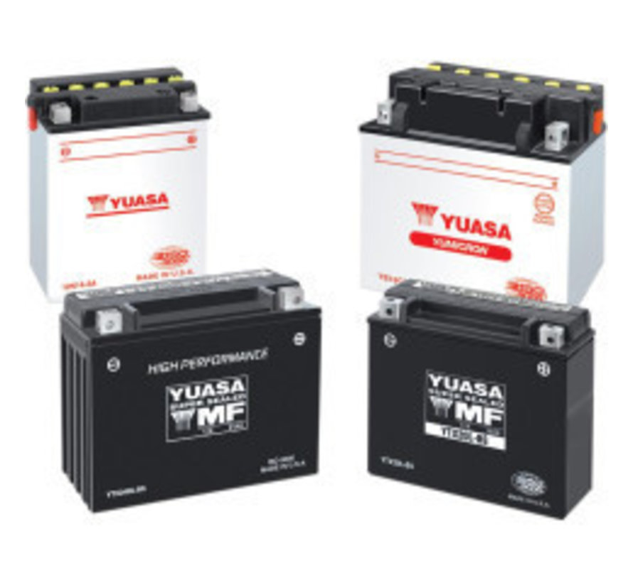 Batterie YTX20H-BS Past op> 1986-1990 Softail; FXE; FXR 1979-1996 XL / LH