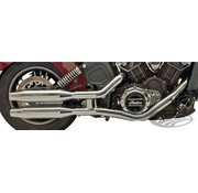 Supertrapp slip-on mufflers for 2015_UP Indian Scout