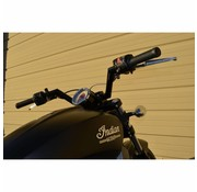 Trask handlebars V-Line 1.25 inch Black or Chrome (Indian SCOUT 69 ABS )