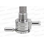 Golan Products gas tank petcock 3/8npt Chrome