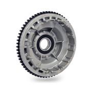 clutch shell and sprocket Fits: > L84-85 FXST; 85 FXEF; L84 FXRS, FXRT; L84 FLT Shovelhead