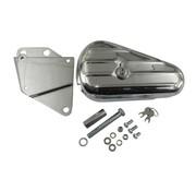 MCS tools  teardrop tool box - kit fits > 84-99 softail (exclude flsts)