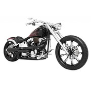TC-Choppers uitlaat zwart of chroom american outlaw high