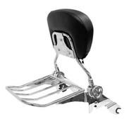 TC-Choppers Quick detachable, backrest and rack, For 09-13 FLHRC/FLHR/FLHX/FLTR