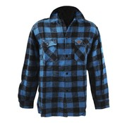 MCS Accessories checkered shirt - black and blue
