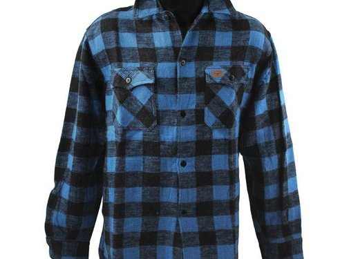 101inc Accessories checkered shirt - black and blue