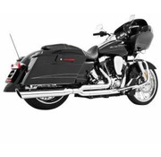 TC-Choppers exhaust black or Chrome union 2 into 1