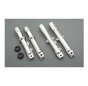 front fork suspension lower leg assembly - Chrome