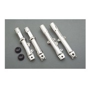 MCS front fork suspension lower leg assembly - Chrome
