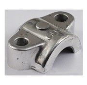 TC-Choppers front fork suspension axle cap slider (axle clamp)