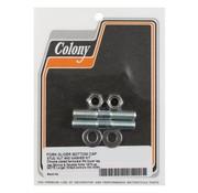 Colony bouchon d'essieu curseur fourchette de goujon
