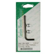 GARDNER-WESTCOTT deslizador tenedor tornillo de drenaje
