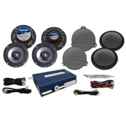 Hogtunes audio amplifier speaker kit for ultras® Fits:> 2014 FLHTCU/FLHTK models