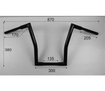 Vandema products Medio gordo Medium Ape Hanger (15 pulgadas) 38cm de alto