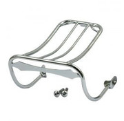 Bobbed  luggage rack  Fits: > 93-01 DYNA
