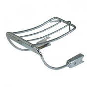 Bobbed  luggage rack  Fits: > 02-05 Dyna