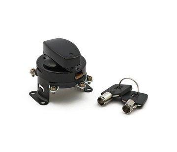 ignition switch Fatbob style 48-72 FL - Black