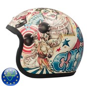 DMD helmet Vintage Circus