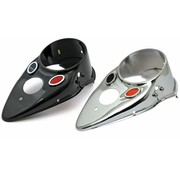 TC-Choppers gas tank dash cover Cateye - black or Chrome