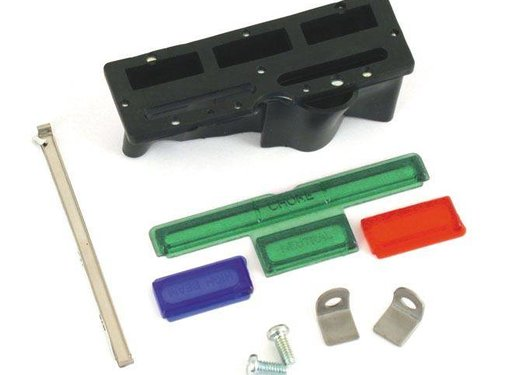 MCS gas tank dash Lens and support kit 68-90