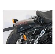 CULTWERK Guardabarros traseros Bobber, ABS, Se adapta a Sportster Modelos 04-06 y 10-17