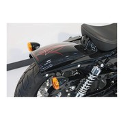 CULTWERK spatbord achter Bobber ABS Past op:> Sportster XL 04-06 & 10-17