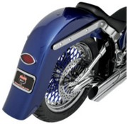 TC-Choppers fender rear rear without mounting holes